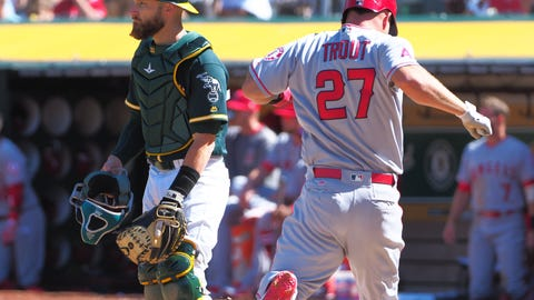 Athletics at Angels: The sked