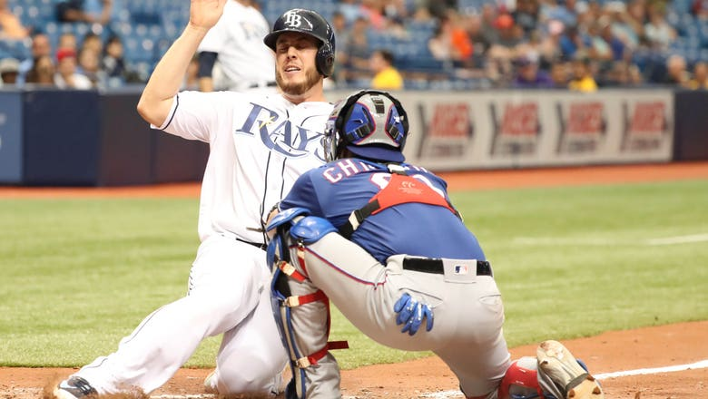 Faria gets 1st win since July, Rays beat Rangers 4-2
