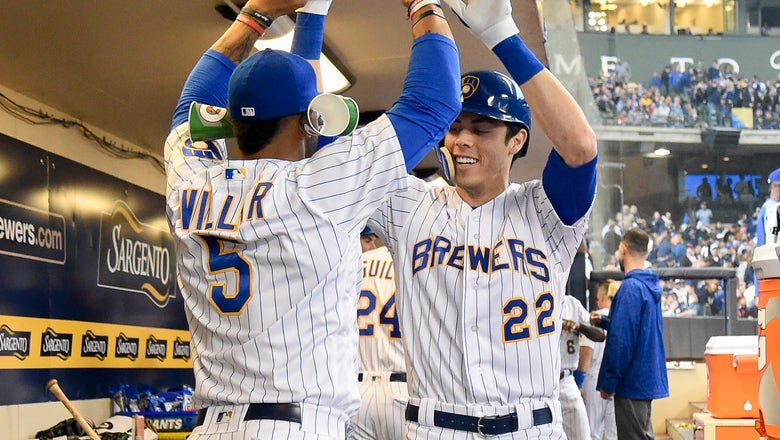 Yelich homers in Brewers' 4-2 win over Marlins