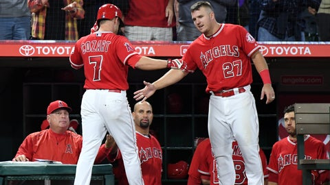 Mike Trout hits 524-foot monster home run