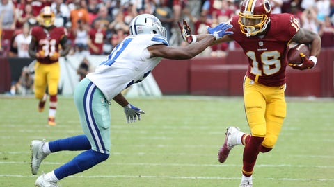 Week 7: Dallas Cowboys at Washington Redskins