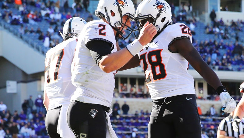 Steelers grab Oklahoma State tandem Rudolph and Washington