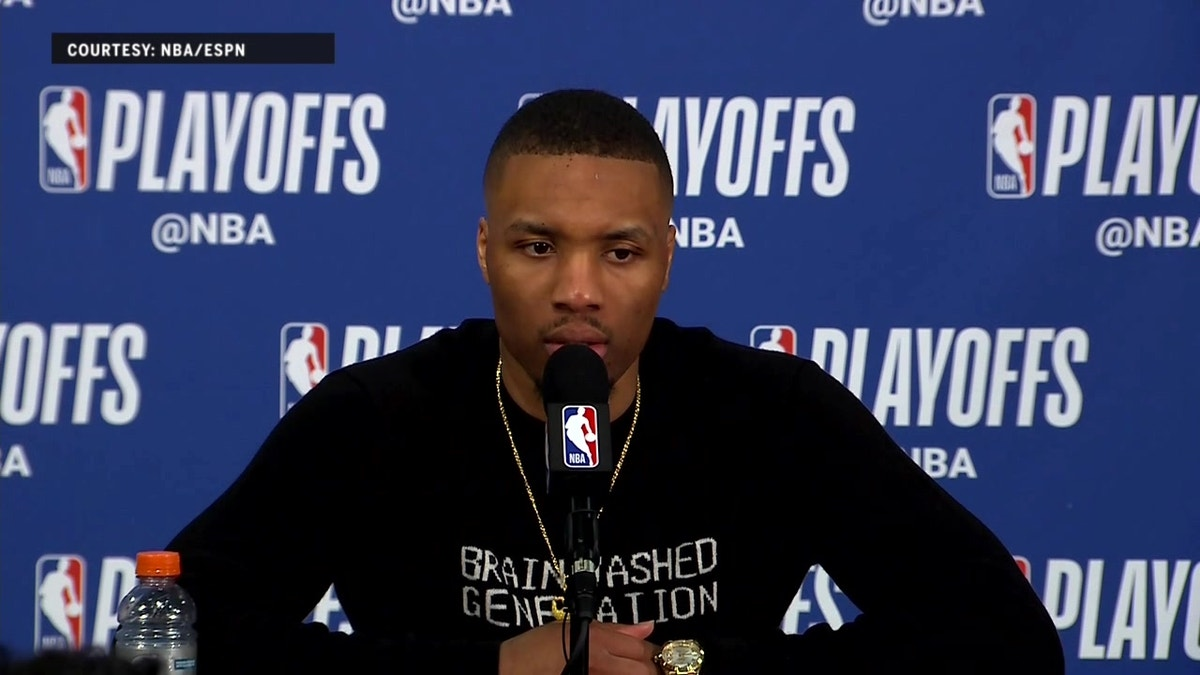 Damian Lilliard talks Game 1 loss to New Orleans | Pelicans at Trail Blazers