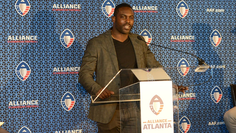 'It's great to be back in the city. A city that just embraced me' — Michael Vick on return to Atlanta with Alliance Atlanta