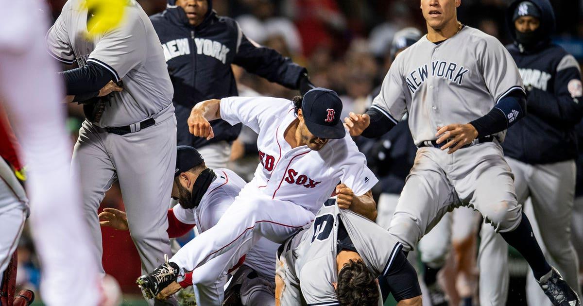 A recap of the Red Sox-Yankees brawl | FOX Sports