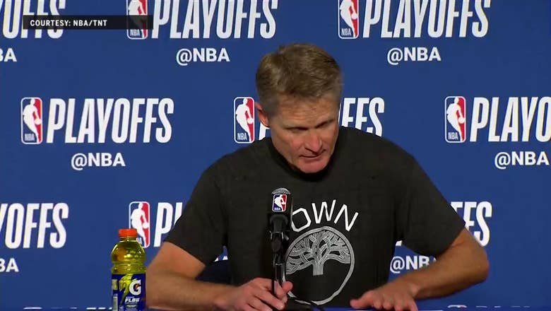 Steve Kerr Congratulates New Orleans after Game 5 | Warriors Eliminate Pelicans