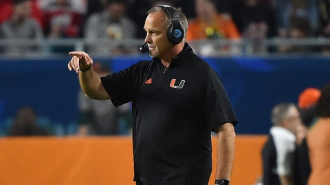 Miami extends Mark Richt's contract through 2023 season