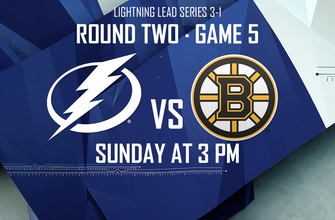 Game 5 preview: Lightning back in Tampa to try to close out series vs. Bruins