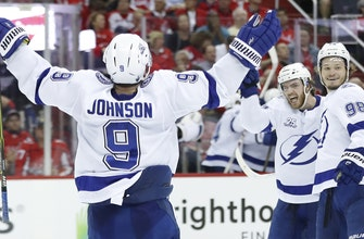 Right back in it: Lightning take Game 3 in D.C., get 1st win of Eastern Conference Final against Capitals
