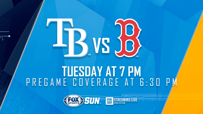 Preview: Jake Faria gets the call as Rays begin series against Red Sox
