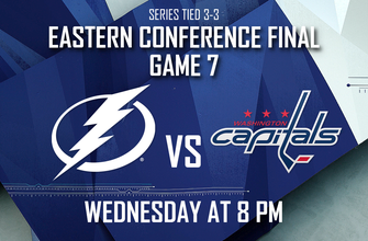 Game 7 preview: Lightning, Capitals play one final time for berth in Stanley Cup Final