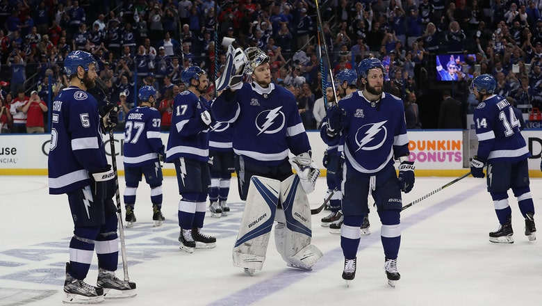 Lightning disappointed by playoff exodus, but don't see season as failure