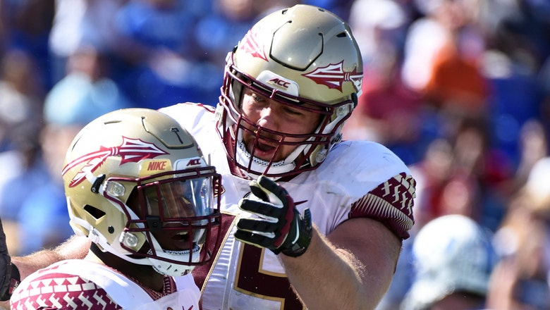 Offensive lineman Josh Ball 'not in good standing' with FSU, no longer on football roster