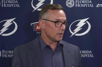 Tampa Bay Lightning GM Steve Yzerman exit interview