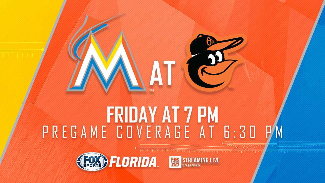 picture about Orioles Printable Schedule titled Miami Marlins at Baltimore Orioles sport preview