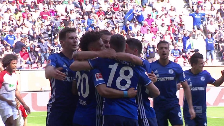 FC Augsburg vs. FC Schalke 04 | 2017-18 Bundesliga Highlights