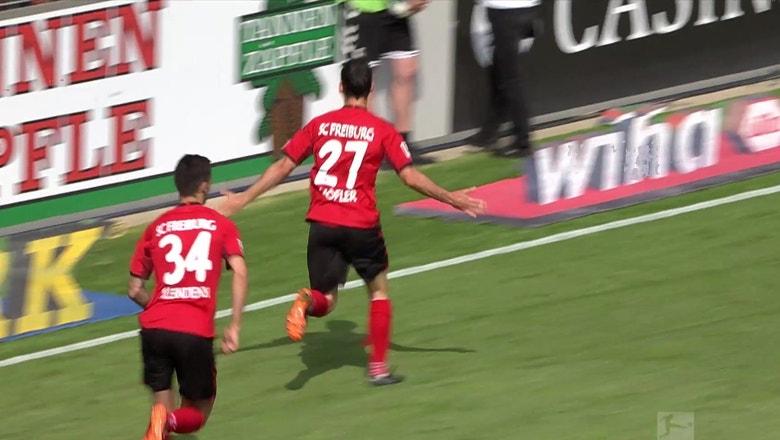 SC Freiburg vs. FC Augsburg | 2017-18 Bundesliga Highlights