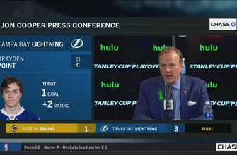 Jon Cooper after series win: Boston set the bar for us this season