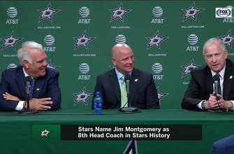 Jim Montgomery on the chance to coach the Dallas Stars