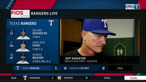 Strong outing in bullpen for Kela, Rangers win in Houston