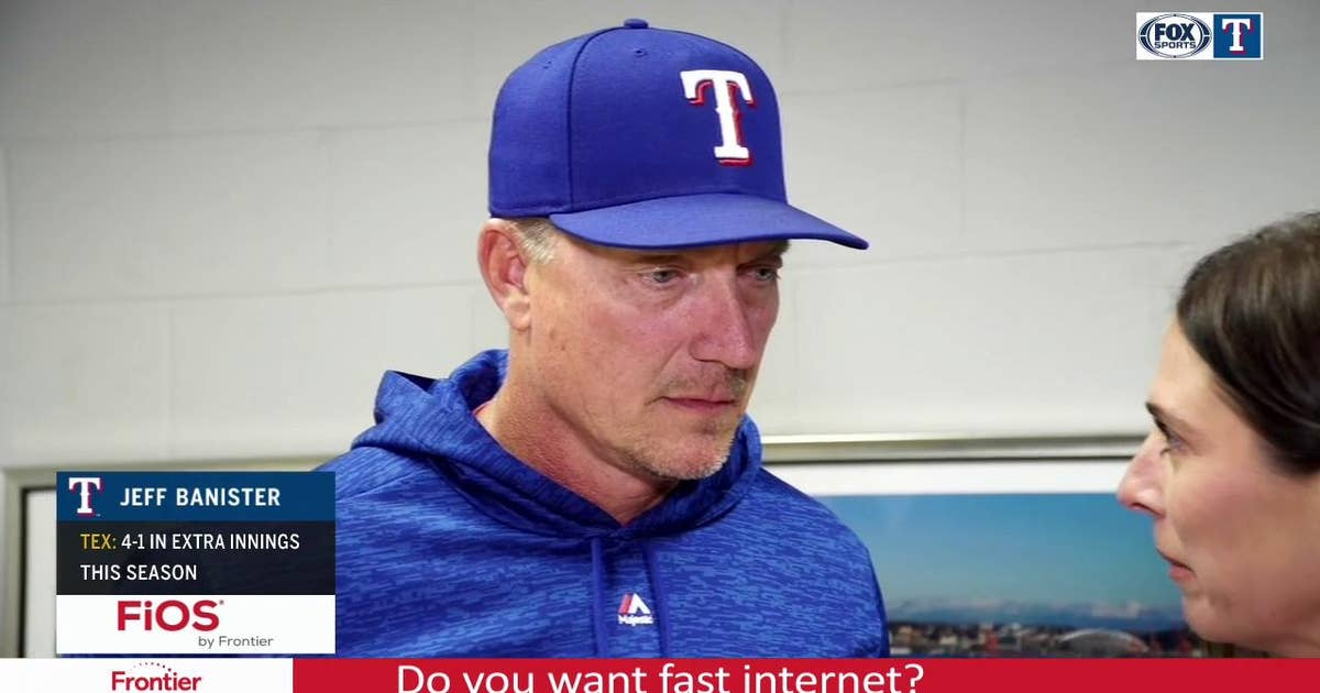 Jeff Banister: 'I'm proud of how our guys continued to battle'