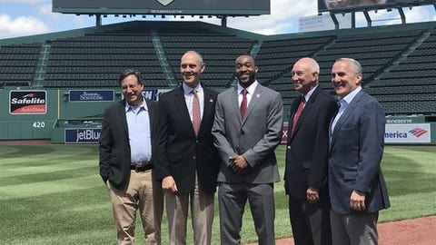 "<p>(STATS) - Members of Harvard and Yale football held a news conference at Fenway Park on Tuesday to preview their Ivy League rivalry being renewed at the home of the Boston Red Sox later this year.</p><p>The Green Monster will overlook the 135th rendition of ""The Game"" for the first time on Nov. 17. Yale holds a 67-59-8 series lead.</p><p>This year's game commemorates the 50th anniversary of the two programs' famous 29-29 tie in 1968. Vic Gatto, Harvard's 1968 captain, participated in the news conference.</p><p>Among those also on hand were the 2018 team captains, Harvard's Zach Miller and Yale's Kyle Mullen.</p><p>Yale is the defending Ivy League champion. Under coach Tony Reno, the Bulldogs went 9-1 while claiming their first title since 2006.</p><p>Harvard finished 5-5, snapping a 16-year run of at least seven wins. Coach Tim Murphy, entering his 25th season, has led the Crimson to nine Ivy titles.</p>"