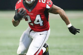 Falcons' Freeman encouraged by progress with injured knee