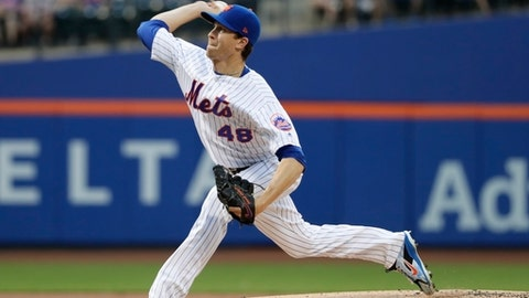 MRI Reveals No Structural Damage To DeGrom's Elbow