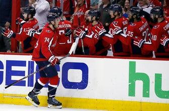 Vrana, Capitals push Penguins to brink of elimination