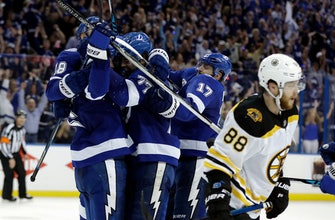 Lightning eliminate Bruins with 3-1 win in Game 5 (May 06, 2018)