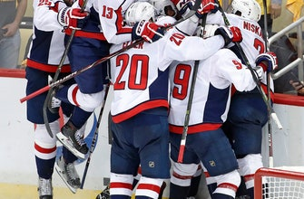 Capitals beat Penguins in OT to advance to conference finals