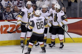 Marchessault-led Golden Knights top Jets 3-1 in Game 2