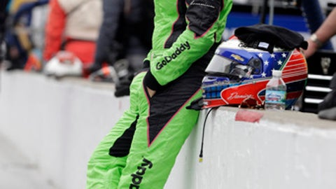 Danica Patrick watches during a practice session for the IndyCar Indianapolis 500 auto race at Indianapolis Motor Speedway, in Indianapolis Friday, May 18, 2018. (AP Photo/Darron Cummings)