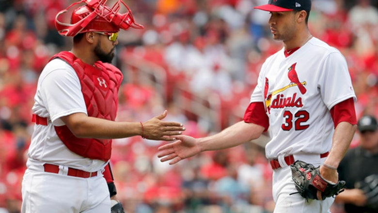 Flaherty fans 13 for 1st MLB win as Cards beat Phillies 5-1