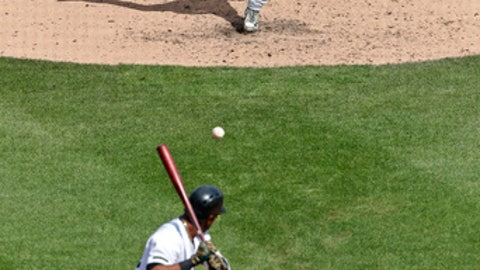 St. Louis Cardinals relief pitcher Jordan Hicks delivers in the eighth inning of a baseball game against the Pittsburgh Pirates in Pittsburgh, Sunday, May 27, 2018. St. Louis Cardinals rookie reliever Jordan Hicks is lighting up radar guns and shutting down opponents. The 21-year-old is challenging New York Yankees closer Aroldis Chapman as the hardest thrower in baseball. (AP Photo/Gene J. Puskar)
