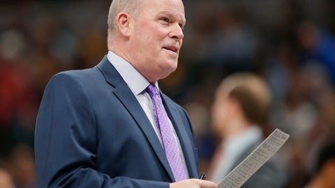 INDIANAPOLIS, IN - MARCH 15:  Head coach Steve Clifford of the Charlotte Hornets is seen during the game against the Indiana Pacers at Bankers Life Fieldhouse on March 15, 2018 in Indianapolis, Indiana. (Photo by Michael Hickey/Getty Images)