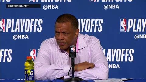 Alvin Gentry on Pels facing Adversity this season   Warriors Eliminate Pelicans