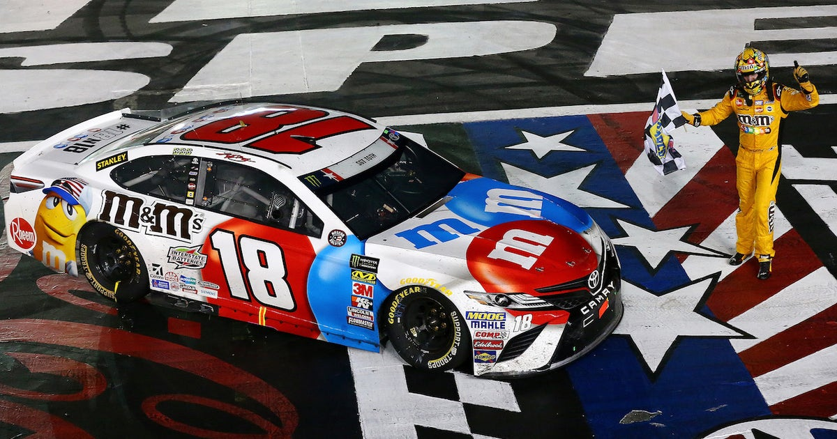 Kyle Busch Makes History As He Dominates The Coca Cola 600