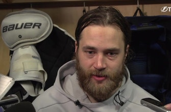 Victor Hedman on his connection with Steven Stamkos, prepping for Game 7