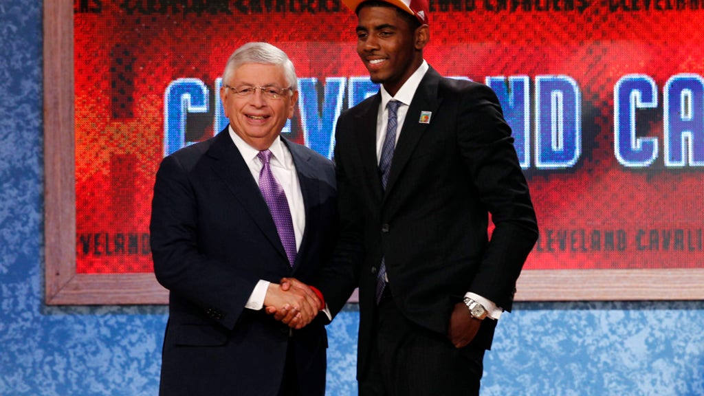 Cleveland Cavaliers NBA Draft lottery odds over the years
