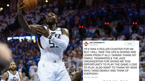 Jae Crowder, former Marquette forward