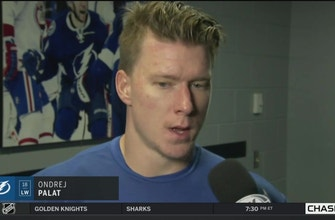 Ondrej Palat on what the keys were to closing out the Bruins