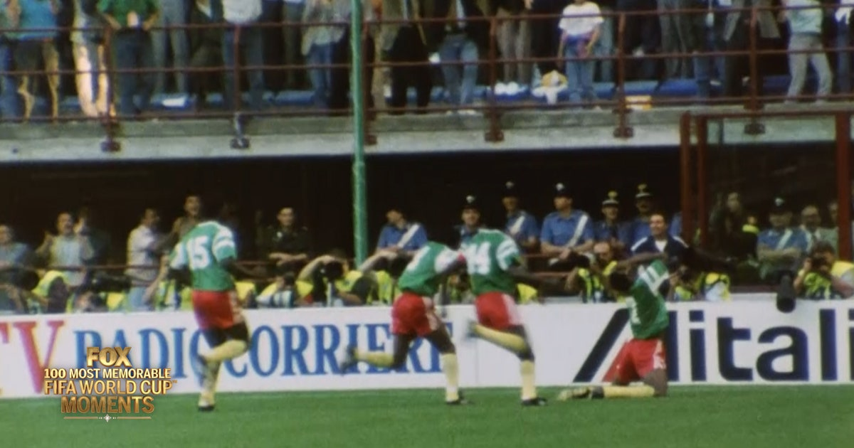 32nd Most Memorable FIFA World Cup Moment  Cameroon shocks Argentina ... c1991cd60