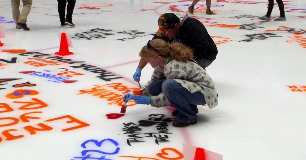 #XTRAPOINT: Orange Alliance paints the ice