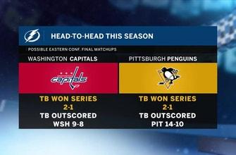 Who's next? Lightning awaiting winner of Capitals-Penguins