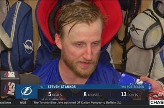Steven Stamkos critical of Lightning's defensive urgency after Game 2
