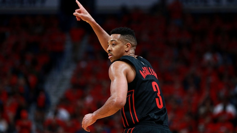 Trail Blazers' C.J. McCollum unveils how LeBron's Cavs have been able to dominate the Toronto Raptors