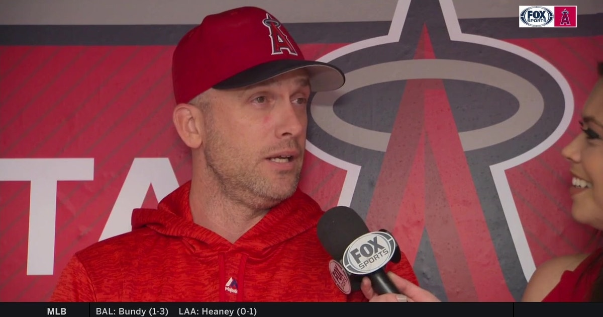 Angels Bench Coach Josh Paul Explains The Mlb Strikeout