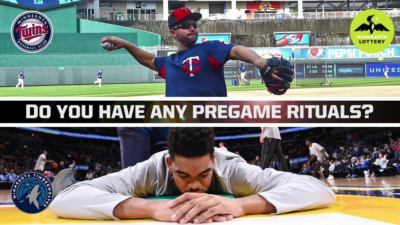 Digital Extra: Pregame rituals of Twins, Wolves