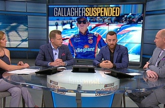 What Spencer Gallagher's suspension means for his team, NASCAR future